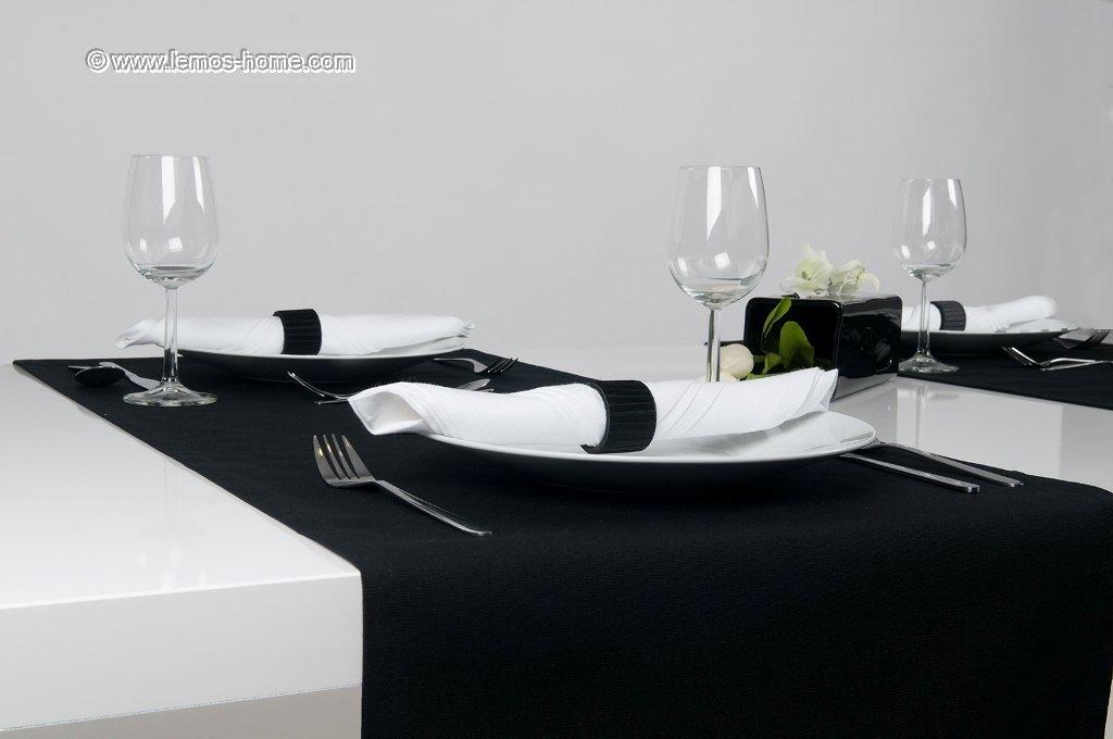 Tischläufer 45x150 cm . Farbe wählbar. Marke Lemos.